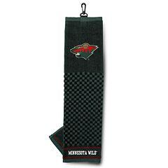 Team Golf Minnesota Wild Embroidered Towel