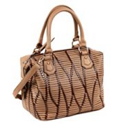 Nicole Lee Yanel Woven Streams Convertible Satchel