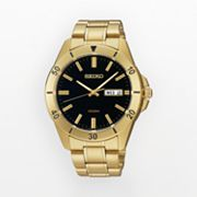 Seiko Gold Tone Stainless Steel Watch - SGGA86 - Men
