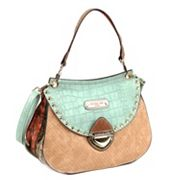 Nicole Lee Mallory Mix Match Colorblock Convertible Shoulder Bag