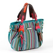 Nicole Lee Dreah Striped Works Convertible Tote