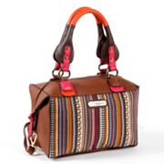 Nicole Lee Dreah Striped Works Convertible Satchel