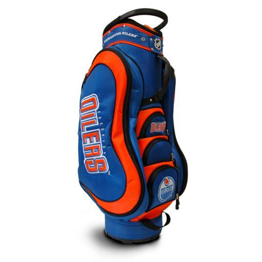 Team Golf Edmonton Oilers Medalist Cart Bag