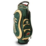 Team Golf Minnesota Wild Medalist Cart Bag