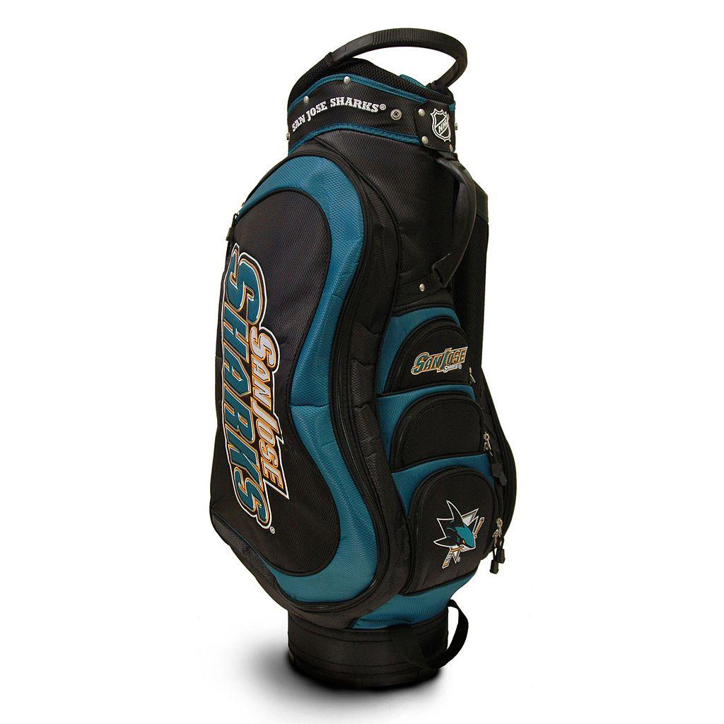 Team Golf San Jose Sharks Medalist Cart Bag