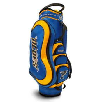 Team Golf St. Louis Blues Medalist Cart Bag