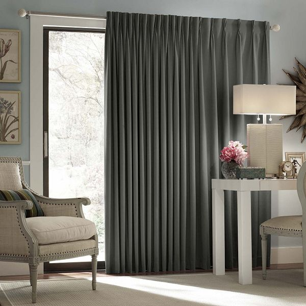 eclipse thermal blackout patio door curtain