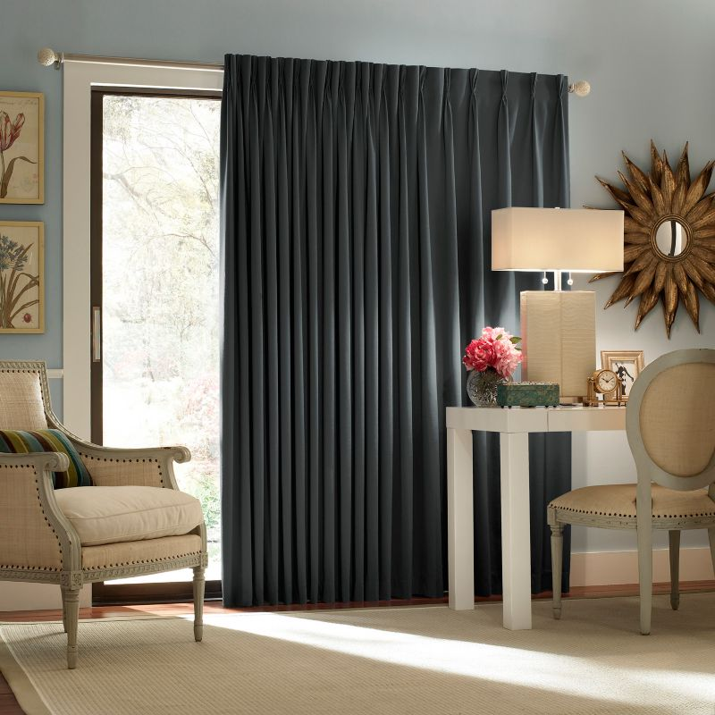 eclipse Blackout Thermal Patio Door Curtain Panel - 100 x 84