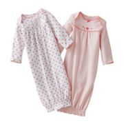 Carter's 2-pk. Floral Sleeper Gowns - Preemie