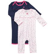 Carter's 2-pk. Butterfly and Dotted Coveralls - Baby