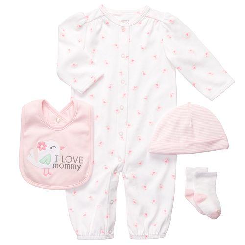 b435fa8120a4 Carter's Bird Convertible Sleeper Gown Set - Baby