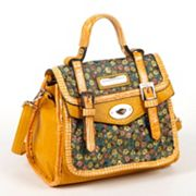 Nicole Lee Larelle Floral Briefcase Convertible Satchel