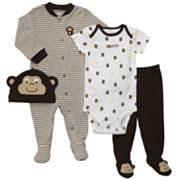 Carter's Monkey Sleep and Play Set - Baby