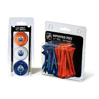 Team Golf Edmonton Oilers Ball & Tee Set