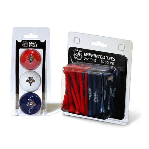 Team Golf Florida Panthers Ball & Tee Set
