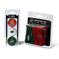 Team Golf Minnesota Wild Ball & Tee Set