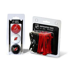 Team Golf New Jersey Devils Ball & Tee Set