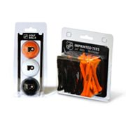 Team Golf Philadelphia Flyers Ball and Tee Set