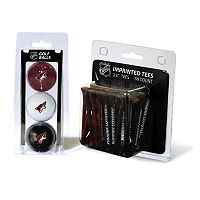 Team Golf Phoenix Coyotes Ball & Tee Set