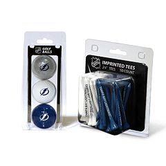 Team Golf Tampa Bay Lightning Ball & Tee Set