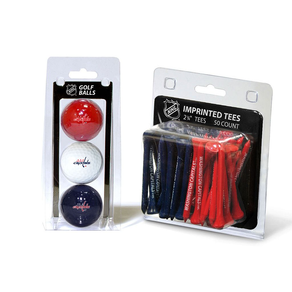 Team Golf Washington Capitals Ball & Tee Set