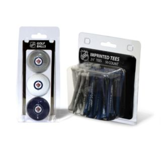 Team Golf Winnipeg Jets Ball and Tee Set