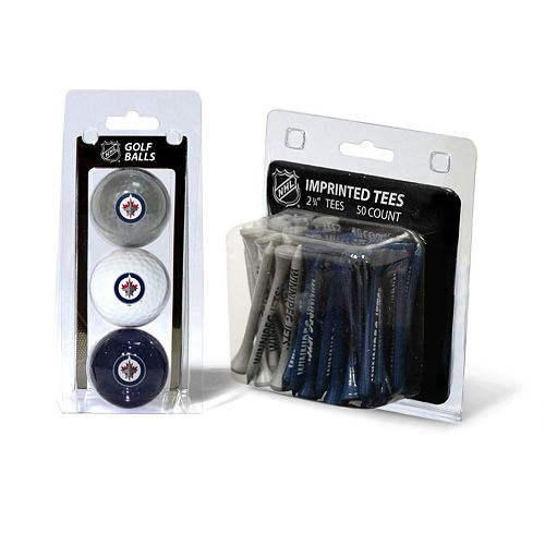 Team Golf Winnipeg Jets Ball & Tee Set