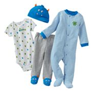 Carter's Monster Sleep and Play Set - Baby