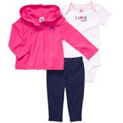 Carter's Hooded Cardigan Set - Baby