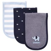 Carter's 3-pk. Stripe and Elephant Burp Cloths