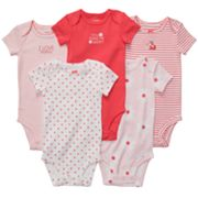 Carter's 5-pk. Printed and Solid Bodysuits - Baby