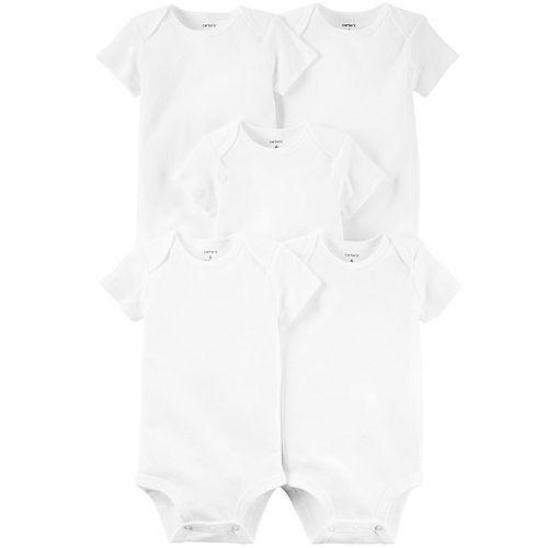 Baby Carter's 5-pk. Solid Bodysuits