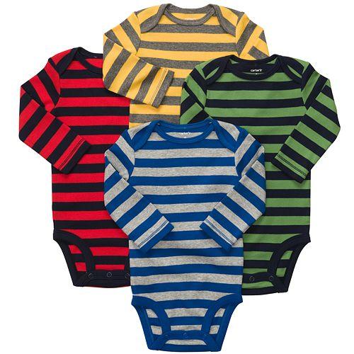 Carter's 4-pk. Striped Bodysuits - Baby