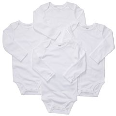 Baby Carter's 4 pkSolid Bodysuits