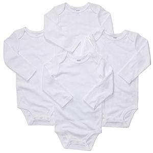 Baby Carter's 4-pk. The Original Bodysuit Solid Bodysuits