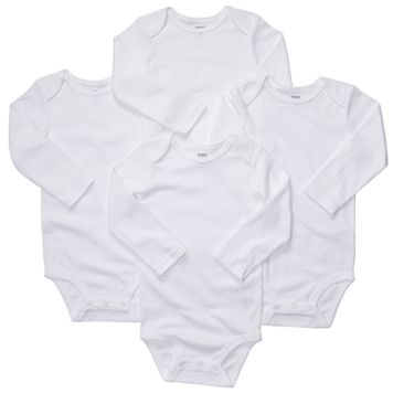 Baby Carter's 4-pk. Solid Bodysuits