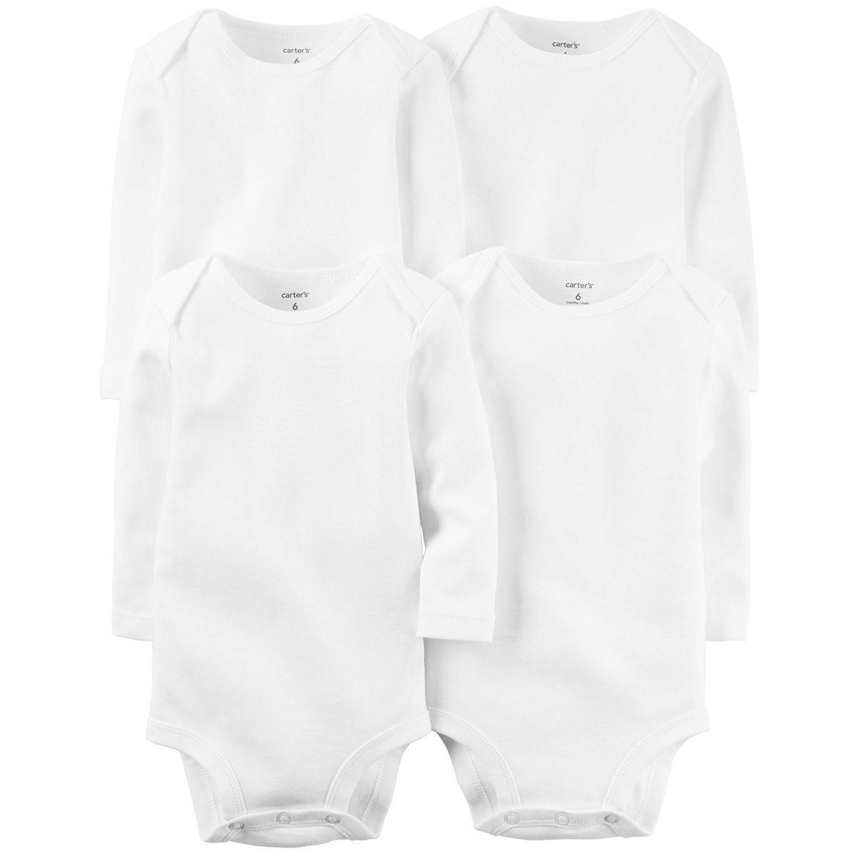 Baby Carter's Solid Bodysuits