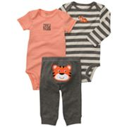 Carter's Tiger Turn Me Around Bodysuit Set - Baby