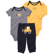 Carter's Truck Turn Me Around Bodysuit Set - Baby