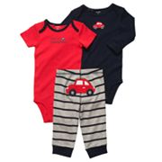 Carter's Car Turn Me Around Bodysuit Set - Baby