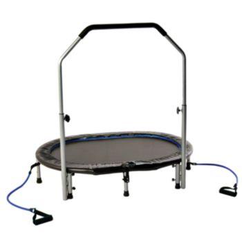 Avari Oval Jogger Trampoline with Handlebar
