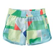 FILA SPORT Geometric Performance Running Shorts - Girls 7-16