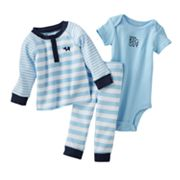 Carter's Little Big Guy Elephant Bodysuit Set - Baby