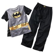 Batman Pajama Set with Cape - Boys 4-12