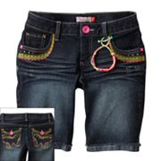 SO Denim Bermuda Shorts - Girls Plus
