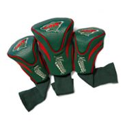 Team Golf Minnesota Wild 3-pc. Contour Head Cover Set