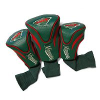 Team Golf Minnesota Wild 3 pc Contour Head Cover Set