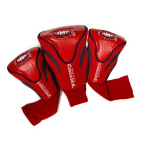 Team Golf Montreal Canadiens 3-pc. Contour Head Cover Set