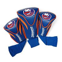 Team Golf New York Islanders 3 pc Contour Head Cover Set