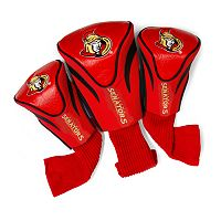 Team Golf Ottawa Senators 3 pc Contour Head Cover Set